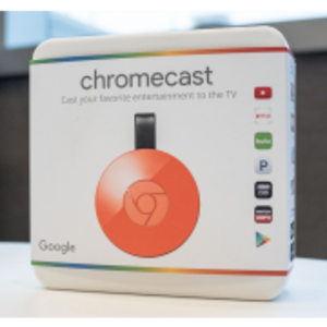 Google Chrome Cast 2 Red Color (Original)