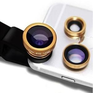 Mobile 3-in-1 Universal Clip Camera Mobile Phone Lens