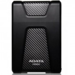 HD650-Anti-Shock Portable External 1TB Hard Drive-Black