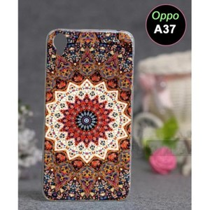 Oppo A37 Mobile Cover Floral Style-Multicolor