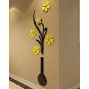 Vase Plum Flower Acrylic Wall Art (24*60 Inches)