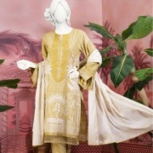 Unstitched 3pcs Eid ul Fiter Collection 2018-JLAWN-S-18-174 Cian