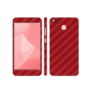 Xiaomi Redmi 4X Red Carbon Fiber Texture Skin-DT7402