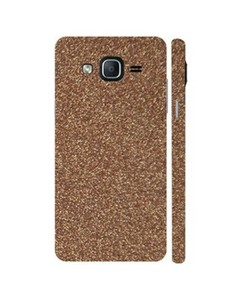 Decor Today Samsung Galaxy On5 2015 Coppery Glitter Mobile Skin-Back & Sides