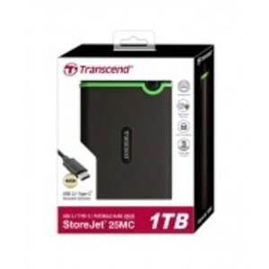 1TB Storejet 25MC USB 3.0 Military-Grade Shock Resistance Portable Hard Drive