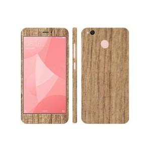 Xiaomi Redmi 4X Mahogany Wooden Texture Skin-DT7398