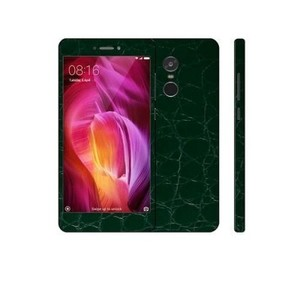 Xiaomi Redmi Note 4 3M Green Crocodile Leather Texture Skin-DT5154