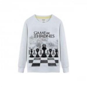 Grey Game of Throne Fleece Sweat Shirt