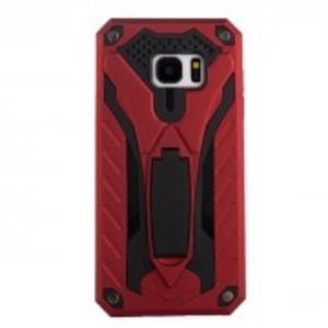Soft Hard Mobile Back Cover Oppo A37- Red Black