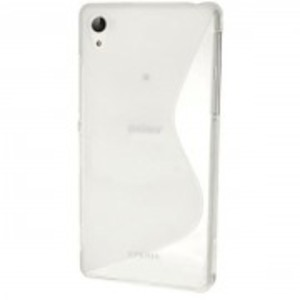 Silicone Case for Sony Xperia Z3-White