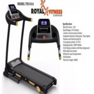 141A - Motorized Treadmill (2.0HP) - Black
