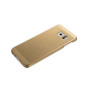 Dotted Net Case for Samsung S6 Edge-Gold