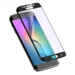 4D Curve Full Screen Glass for Samsung S6 Edge Plus-Curve Edge-0.3mm-Black