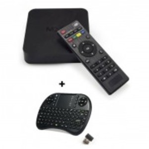 Combo MXQ - Android TV Box 1GB/8GB with Wireless Keyboard - Black
