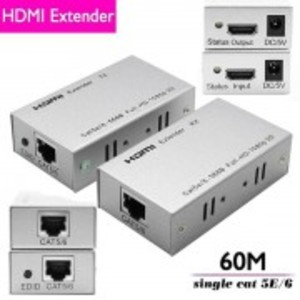 HDMI Range extender by dual cat 5e/6 cable to 60m support HDCP