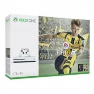 white Xbox One S-FIFA 17 Bundle-1TB