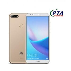 "Huawei Y7 Prime 2018 - 5.99"" HD+ - 3GB RAM + 32GB ROM - 13/2/8 MP Camera - Face Unlock - Gold"