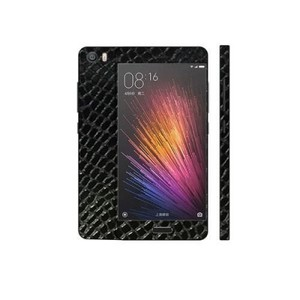 Xiaomi Mi 5 Black Snake Leather Texture Skin-DT5311