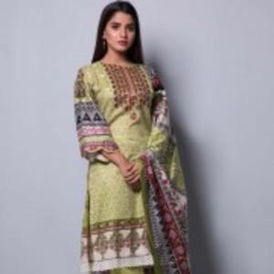 Rangreza Printed Lawn 2019 collection Unstitched 3 Pcs  Suit - Vol 4