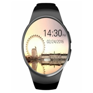 Black KW18 Smart Watch-GADGETSKW181B