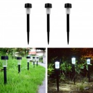Garden Collection - Solar Stake Lights - Walkway, Solar Charging, Long Battery Time