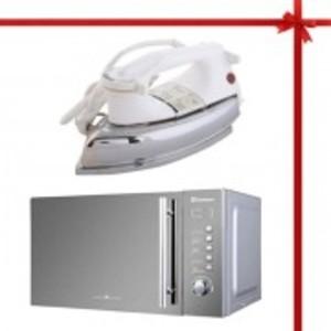 Dawlance Digital Microwave Oven DW295 & National Dry Iron