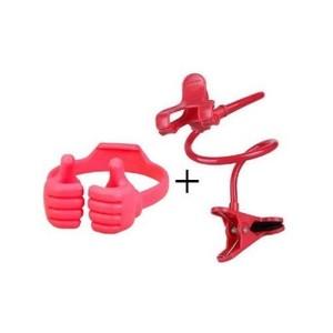 Pack of 2-Flexible Mobile Holder & Mobile Holder-Red