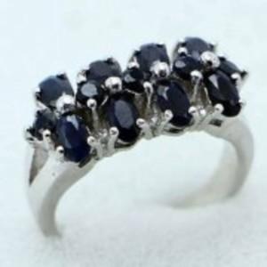 Sapphire Stone Ring -Multicolor-GB1893