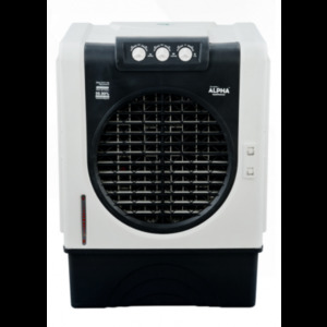 RAC-7777PS - Semi Automatic Water Air Cooler - White & Black - Brand Warranty