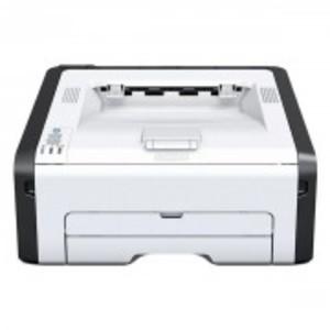 White Ricoh Wireless LaserJet - Monochrome Printer - SP 212w