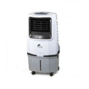 AC/DC RECHARGEABLE EVAPORATIVE AIR COOLER FAN ERAC-59C - White & Grey