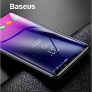 Baseus 0.3mm 3D Tempered Glass Screen Protector Full Edge Cover For Samsung Galaxy S9 S9 Plus