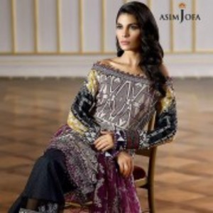 AJL-04B Luxury Lawn Collection 2018