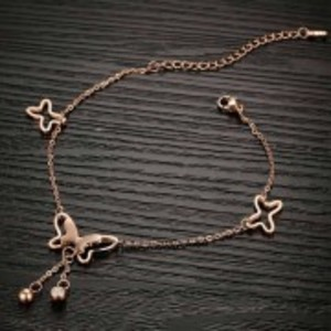 Golden Alloy Anklet