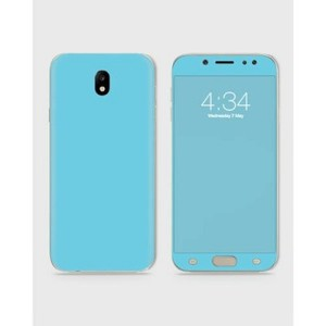 Samsung J520 J5 2017 Skin Wrap In Sky Blue Color-1Wall24-1wall24-7