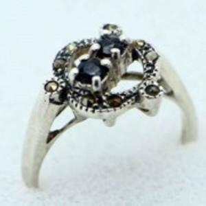 Sapphire Stone Ring -Multicolor-GB1901