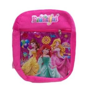 Pink Doll School Bag