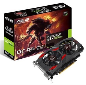 ASUS Cerberus GeForce GTX 1050 Ti 4GB OC Edition GDDR5