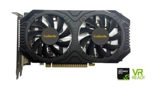 Manli GeForce GTX1050Ti Gallardo 4GB DDR5 Graphics card
