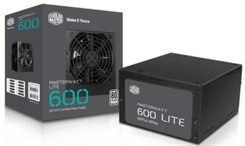 Cooler Master MasterWatt Lite 230V 600W Power Supply