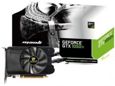Manli GeForce GTX1050Ti 4GB DDR5 single fan Graphics card