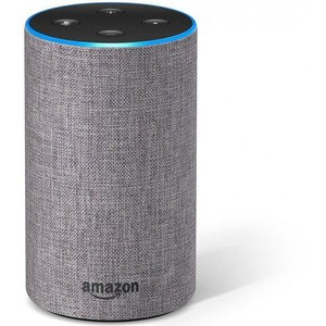 Amazon Echo 2nd Generation – Heather Gray Fabric