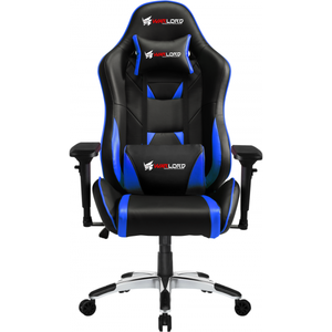 Warlord Phantom Gaming Chair - Black/Blue (GAM-WRD-GCH-007)