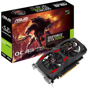 ASUS Cerberus GTX1050TI-O4G GeForce 4GB GDDR5 Gaming Graphics Card