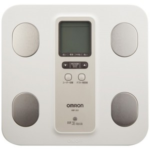 OMRON Body Composition & Scale HBF-202-W White