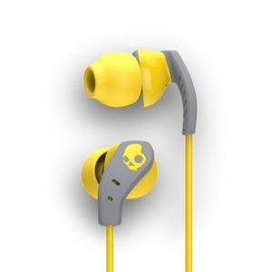Skullcandy Method In-Ear Sport Performance Earphones (Yellow And Gray)