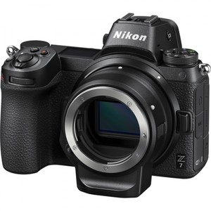 Nikon Z7 Mirrorless Digital Camera with FTZ Mount Adapter Kit