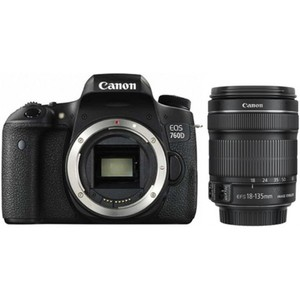 Canon EOS 760D with 18-135mm Lense