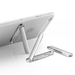 Spigen U100 Universal Metal Kickstand For Mobiles - Silver
