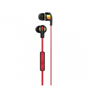 Skullcandy Smokin Buds 2 In-Ear Headphones with Mic - Spaced Out Iridium/Black